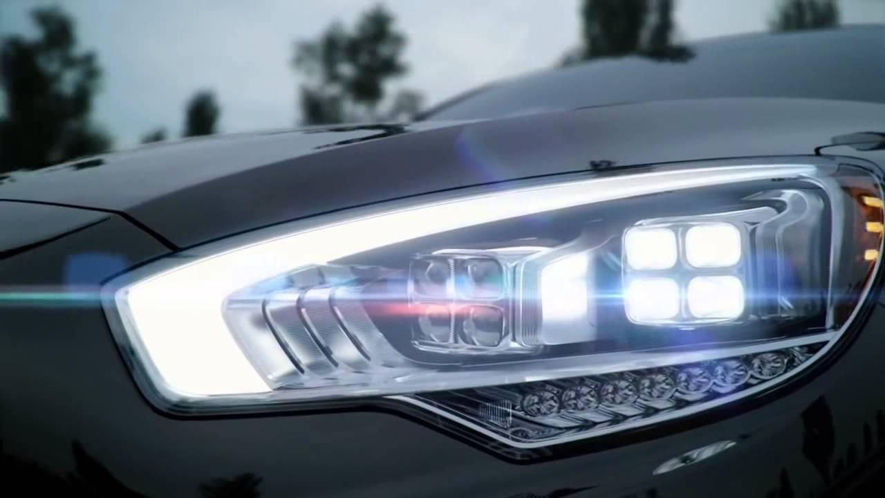 2015 Kia K900 Full Adaptive Front Led Headlight Youtube