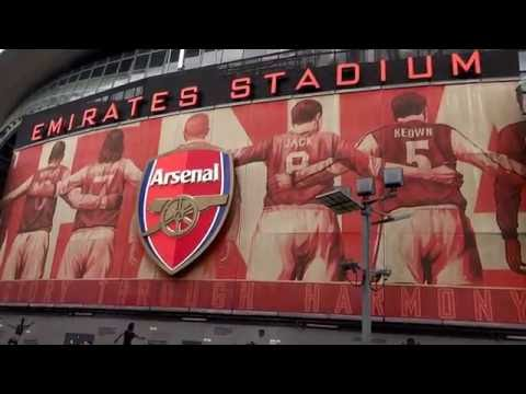 Stations 2 Stadiums Ft. Arsenal Football Club ( The Emirates ) London UK