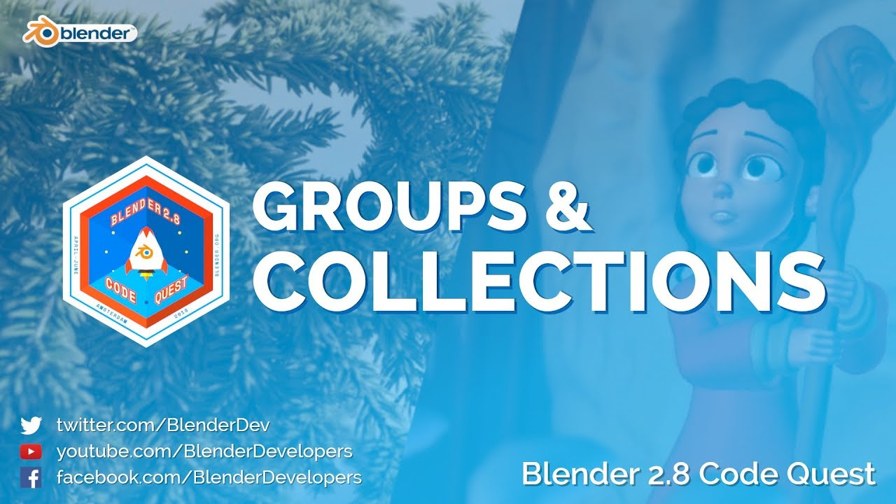 Collections and Groups — Blender Developers Blog