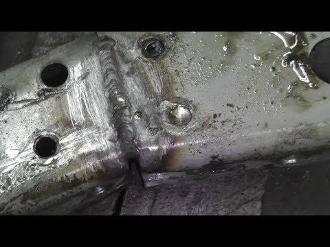 Passat B6. Немного о принципе сварки металла встык.