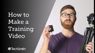 كيفية جعل الفيديو التدريب