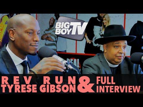"Rev Run & Tyrese on ""It's Not You, It's Men"", Oprah Winfrey, And More! (Full Interview) | BigBoyTV"