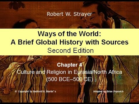 Chapter 4: Culture and Religion in Eurasia