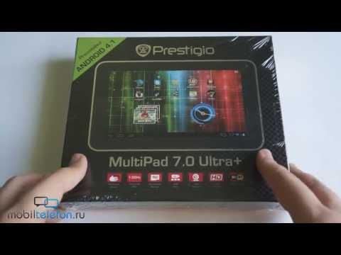 Распаковка Prestigio MultiPad 7.0 Ultra+: планшет за 3000 рублей (unboxing)