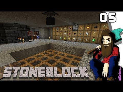 [Minecraft] STONEBLOCK #05 - Auto Sifter