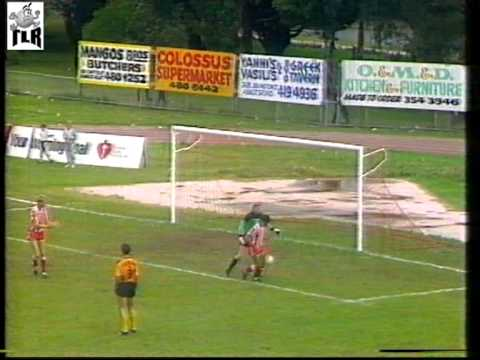 NSL : 1989 HEIDELBERG UNITED V GEORGE CROSS 1-2
