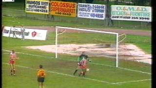 HUFCTV: 1989 HEIDELBERG UNITED V GEORGE CROSS 1-2