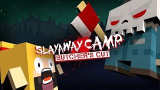 Slayaway Camp: Butcher's Cut | Launch Trailer (PlayStation 4, Xbox One, Microsoft Windows)