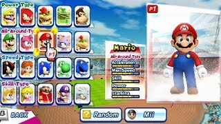 Mario & Sonic at the London 2012 Olympic Games - Discus Throw (All Characters)