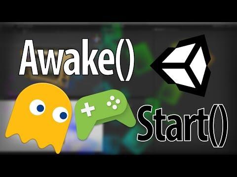 Unity Функции Awake и Start - Продолжительность: 2:53