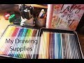 Giới thiệu dụng cụ vẽ tranh của mình/My art supplies and materials