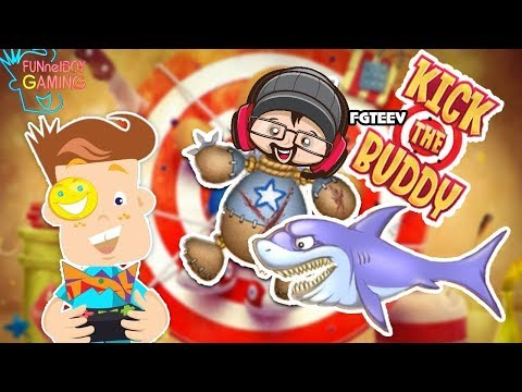 FUNnel Boy Plays KICK THE BUDDY! Poor FGTEEV DUDDY Ragdoll! (FB Gaming #4)