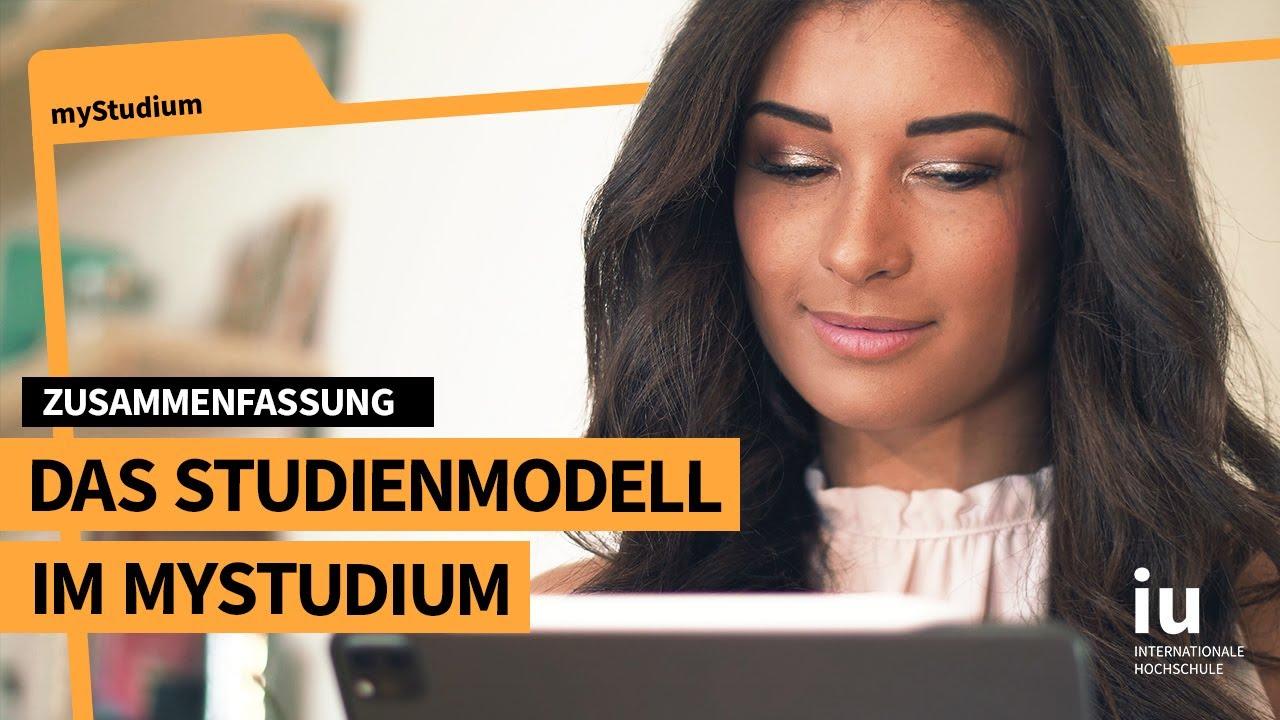Das Studienmodell im myStudium