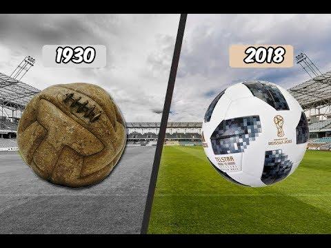 Todos los Balones del Mundial   De Uruguay 1930 a Rusia 2018 - YouTube 437df2131b183