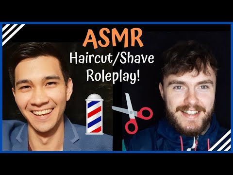 ASMR Haircut/Shave Roleplay for Tingles ✂ (Whispered, with Wez ASMR)