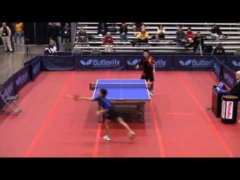 Cadet Boys SF: Tong Tong Gong vs. Kanak Jha - 2011 US Table Tennis Championships