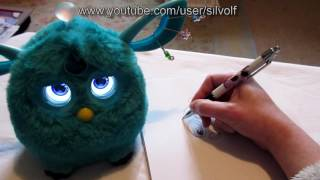 I Draw Loo Bay the Furby Connect (with his help!)
