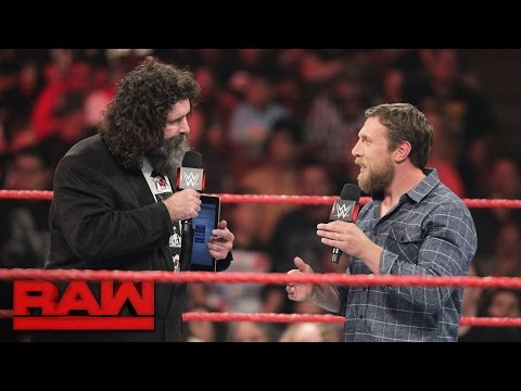 Raw General Manager Mick Foley has words with SmackDown Live GM Daniel Bryan: Raw, Aug. 8, 2016