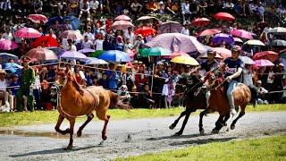 Kịch tính vòng chung kết Giải Đua ngựa truyền thống huyện Bắc Hà mở rộng năm 2020