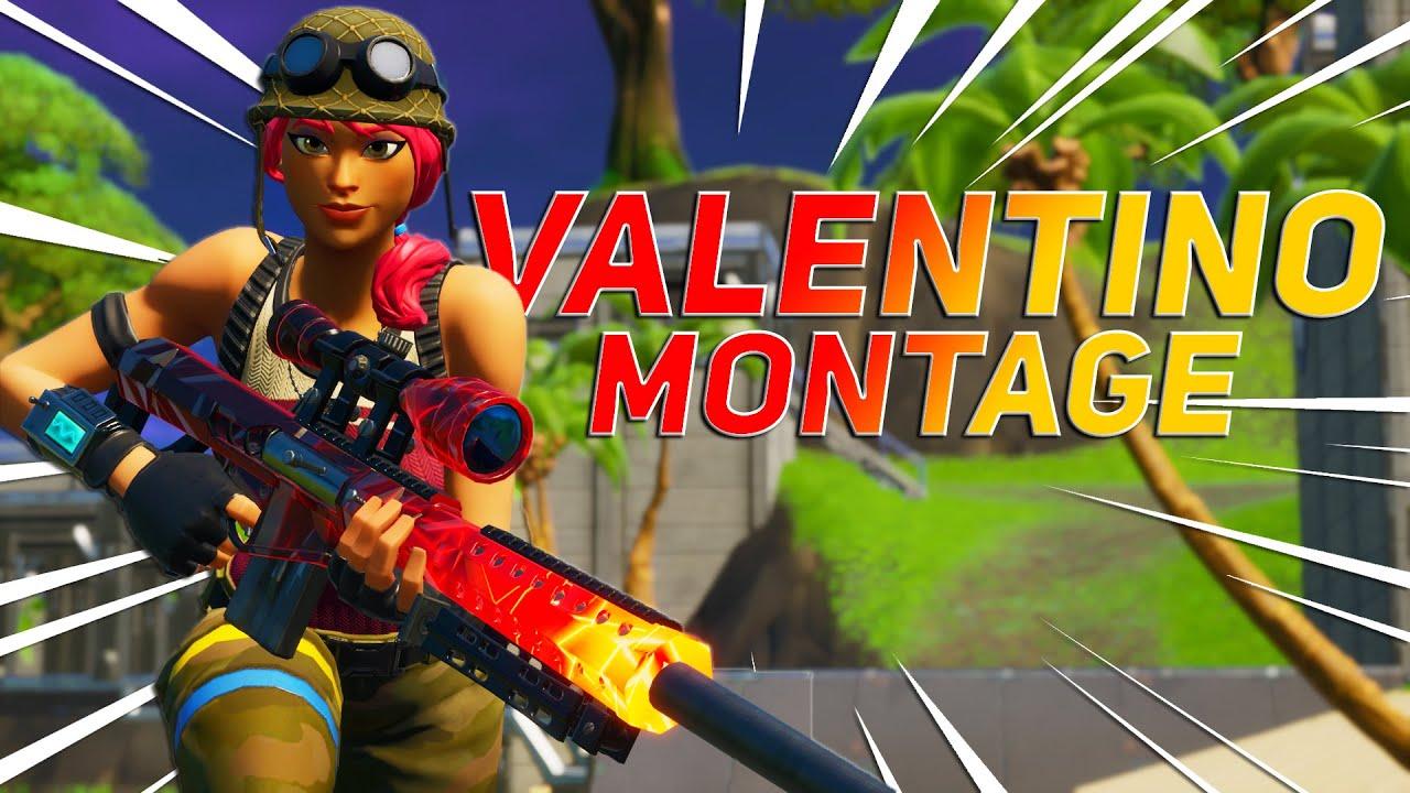 Fortnite Montage Valentino 24kgoldn Youtube