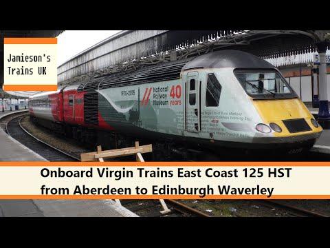 Onboard Virgin Trains East Coast 125 HST from Aberdeen to Edinburgh Waverley