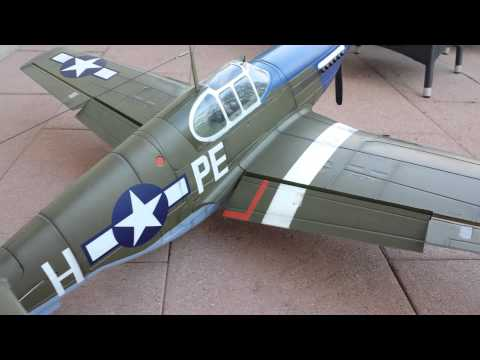 FMS P-51B Mustang 1400mm Dallas Darling