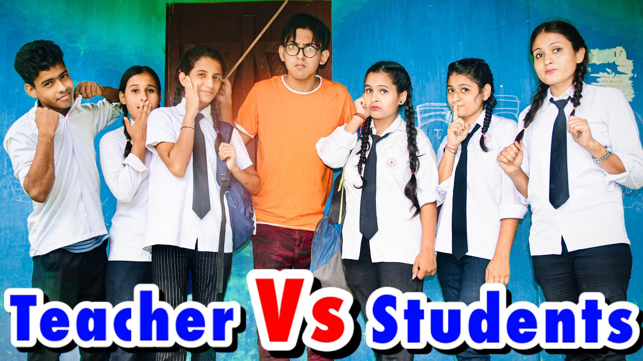 TEACHER VS STUDENTS | Funny Video | Prashant Sharma Entertainment