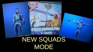 Fortnite Season 6 - NEW DISCO DOMINATION Squads mode and NEW SKULL TROOPER SKIN played by TNTextreme