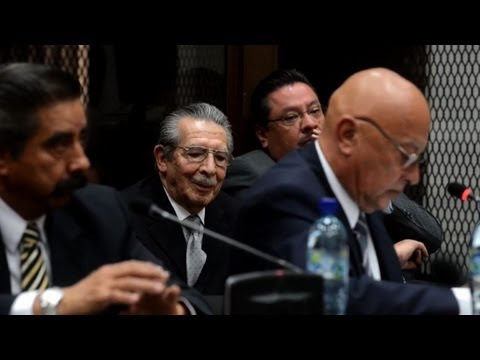 Guatemala ex-dictator to be tried for genocide