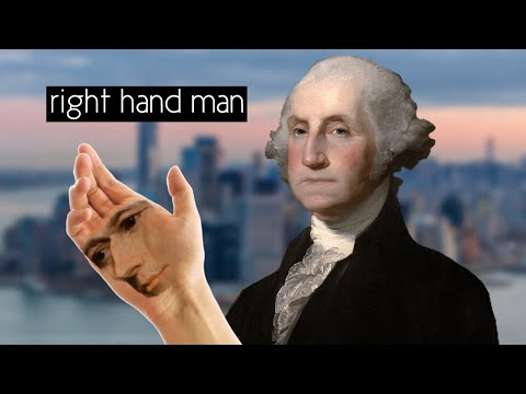 Right Hand Man But It's Actually George Washington