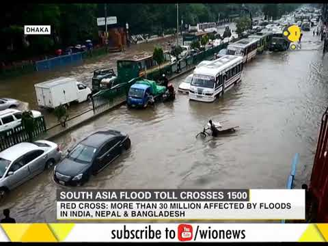 South Asia flood toll crosses 1500