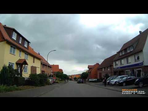 D: Landau. Stadt Bad Arolsen. Landkreis Waldeck-Frankenberg. Fahrt durch den Ort. August 2016