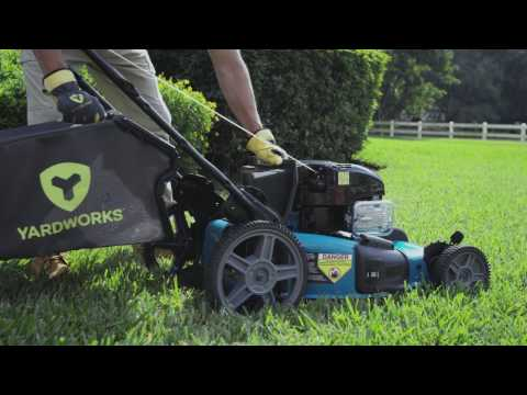 Yardworks 163CC 3-in-1 Self-Propelled Lawn Mower With Quiet Power Technology™