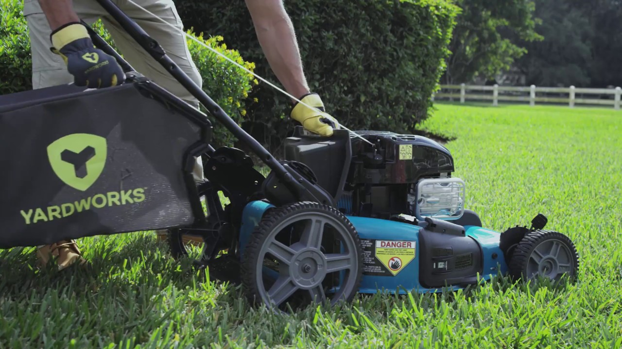 Yardworks 163CC 3-in-1 Self-Propelled Lawn Mower with ...
