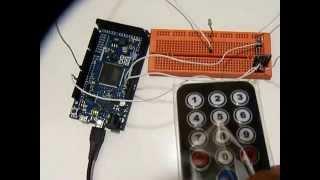IR remote kit LED blink using Arduino Due