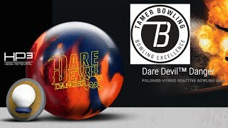 Roto Grip Dare Devil Danger Review (4 Testers-2 Patterns) by TamerBowling.com