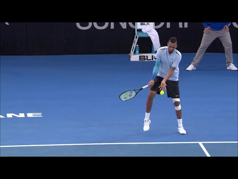 Near miss for Kyrios | Brisbane International 2018
