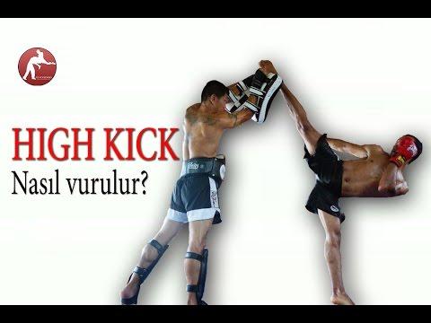 Kick Boks'ta Geri Tekme, Dönerek Geri Tekme Nasıl Vurulur?  Back Kick, Spinning Back Kick