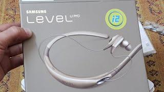 Samsung level U pro unboxing