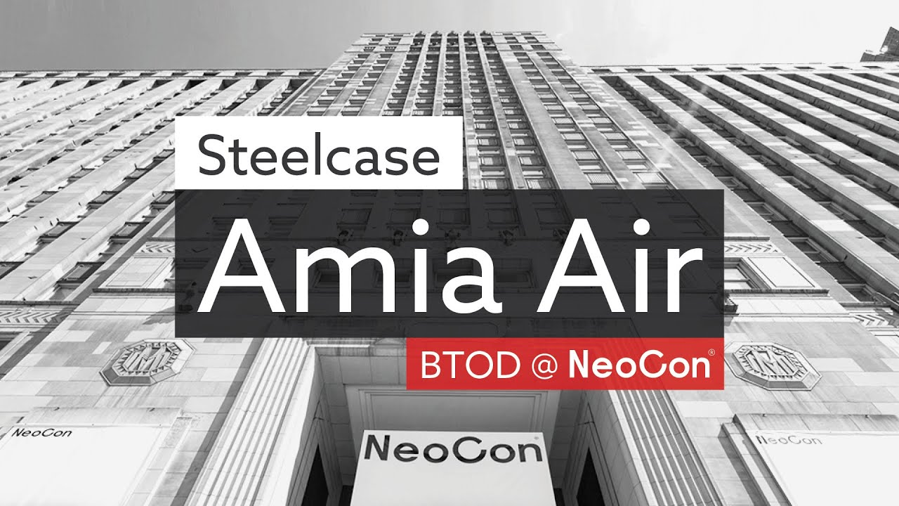 Steelcase Amia Air Chair: Quick Review and Initial Impressions from NeoCon  43