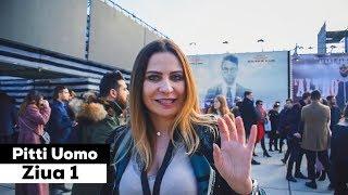 Prima zi la PITTI UOMO cu Adina Buzatu   Vlog #1