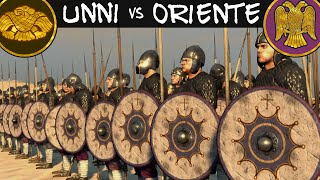 Attila Total War Online Battle #4 - Unni Vs Impero Romano d