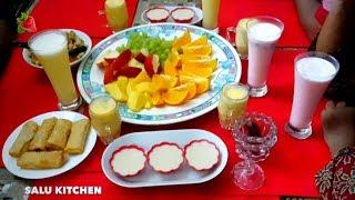 ഈ റമദാനിലെ നമ്മുടെ ആദ്യത്തെ നോമ്പ്തുറ | 9 in 1 Easy Iftar Recipes | Salu Kitchen