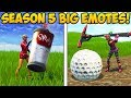 HOW TO DO BIG EMOTES IN SEASON 5! - Fortnite Funny Fails and WTF Moments! #258 (Daily Moments)