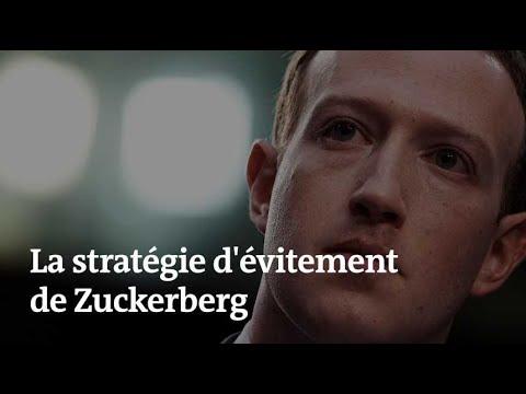 Facebook : comment Mark Zuckerberg a évité de répondre à certaines questions