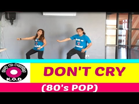DON'T CRY REMIX BY DJ GIBZ   POP 80's   DANCE FITNESS   KEEP ON DANZING   KOD
