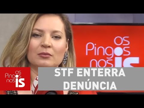 """Joice: STF Enterra Denúncia Contra Renan Calheiros. O Que é Que O """"Renan-araponga"""" Tem?"""