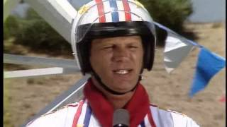 Super Dave Osborne's wrecking ball stunt