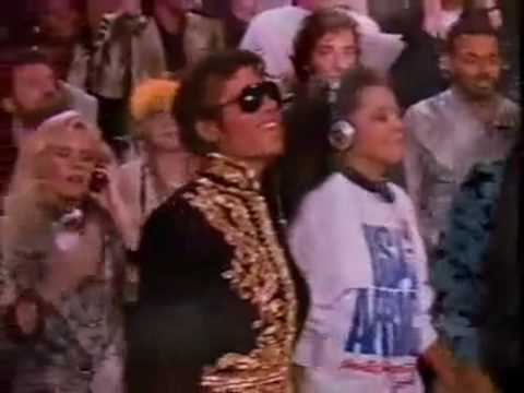 Michael Jackson - We Are The World (Peace in The World)