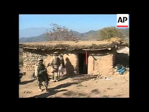 US forces raid villages in hunt for Taliban and Al Qaida elements